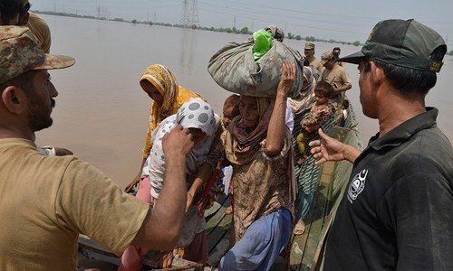 Less need for UN on ground as disaster response in Pakistan improves