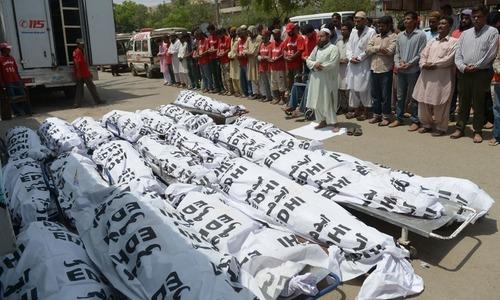 The Karachi tragedy