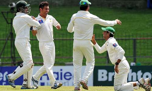 Yasir wrecks Sri Lanka top-order after Karunaratne stand
