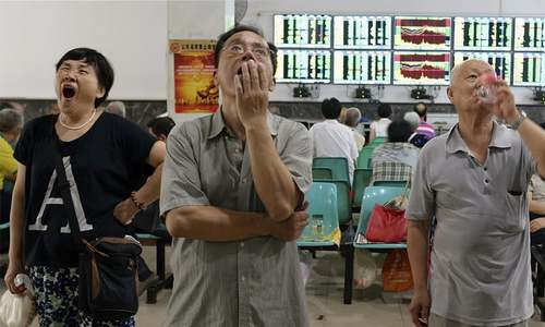 China hunts for 'manipulators' as stocks tumble