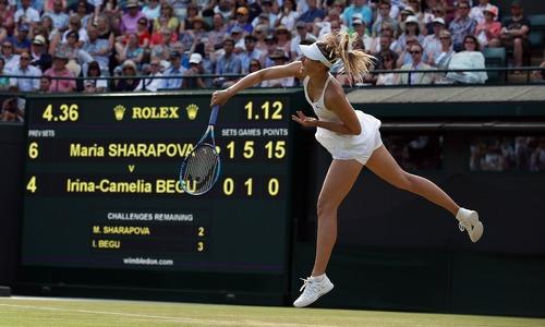 Djokovic, Sharapova into last 16; Kyrgios ousts Raonic