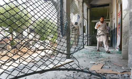 Bomb goes off near banquet hall in Peshawar