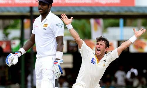 Yasir fires again to dismiss Sri Lanka for 278