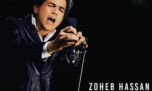 Just in: Zoheb Hassan's fans choose his comeback album's cover