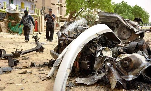 'Scores' killed by Nigeria female suicide bombers
