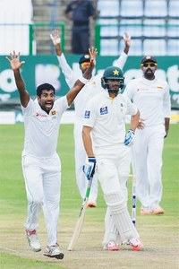 Pakistan under pressure in decider despite Sarfraz heroics