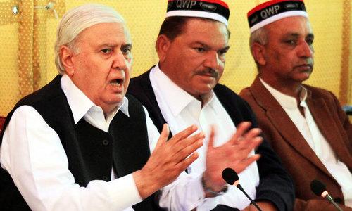 QWP to rejoin KP govt after Eid