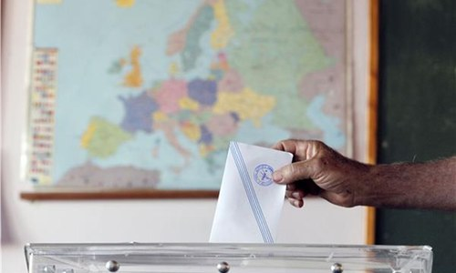Greece votes on high-stakes bailout referendum