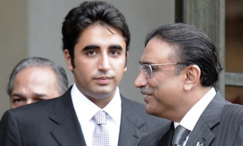 Bilawal only 'partially allowed' by Zardari to run party