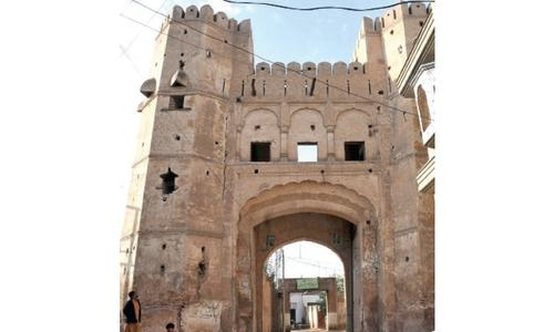 Peshawar walled city a picture of neglect