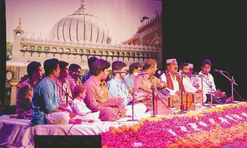 Napa hosts traditional Qawwali of Farid Ayaz and Abu Muhammad