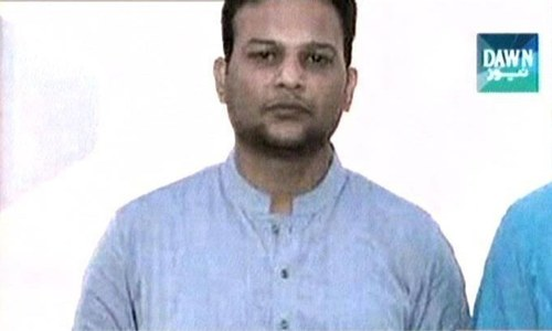 Eyewitness identifies Umair Siddiqui in killing of Rangers man