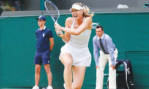 Serena wins sister  duel as Sharapova grinds through