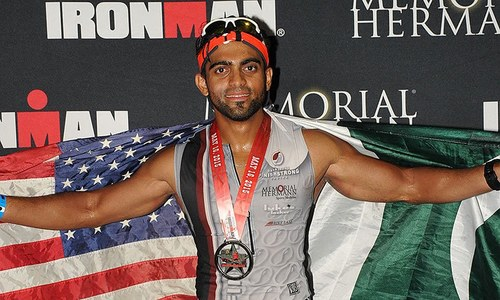 Battling anxiety: The Pakistani Ironman's story