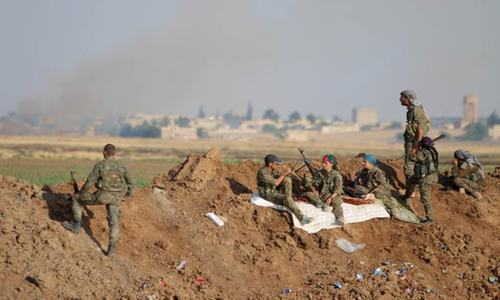 Syrian Kurds retake northern villages from Islamic State: monitor