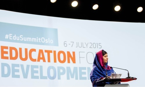 Cut '8 days of military spending' for universal education: Malala