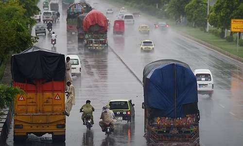 Rain-induced flash floods kill at least 8 in Rawalpindi
