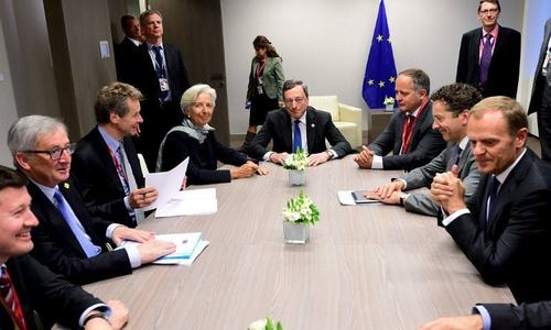 IMF caught in delicate position between Greece and EU