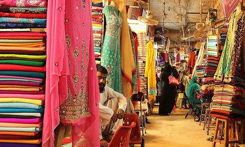 Colours and conversation at Meena Bazaar