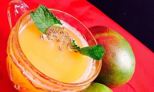 Food Stories: Mango sharbat
