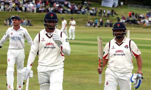 South African pair in 501 stand for Lancashire