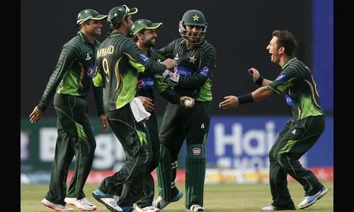 چوتھے ون ڈے میں پاکستان کی جیت