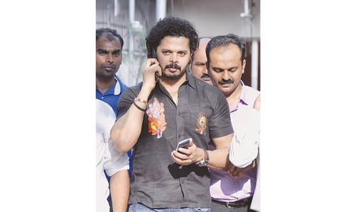 Sreesanth, two others cleared over IPL fixing