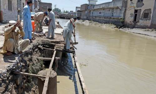 Structures along Peshawar nullah to be removed
