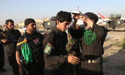 Summer camp for Iraqi Shia boys: Training to fight IS
