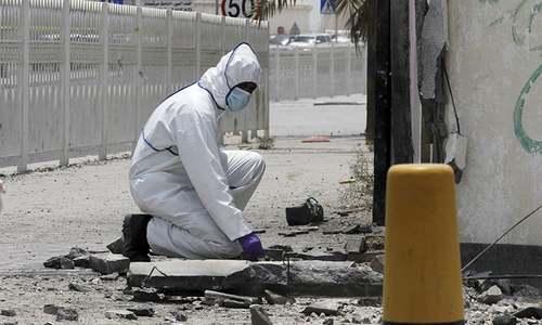 Two Bahrain police killed in 'terror' blast