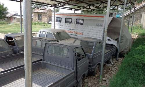 Mobile health unit worth millions rusting in Parachinar