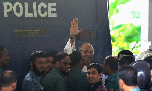 Bangladesh upholds opposition politician's death sentence