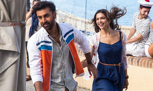 Revealed: Ranbir and Deepika are adorable in Tamasha's first look