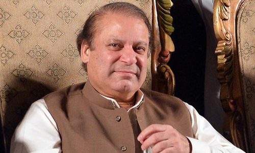 Nawaz urges JUI-F, MQM to withdraw deseating motions against PTI
