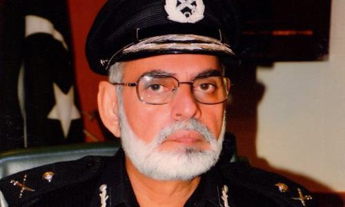 Law, order not purely home-grown problem, says Balochistan IG