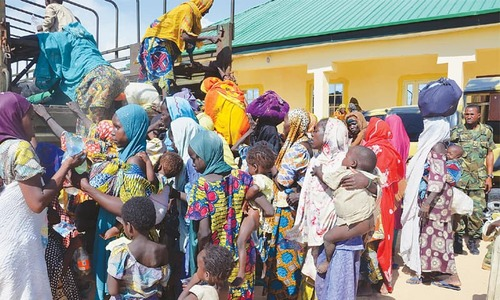 71, mostly women and girls, rescued from Boko Haram captivity