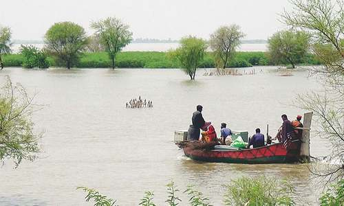 No threat of flood to Sindh