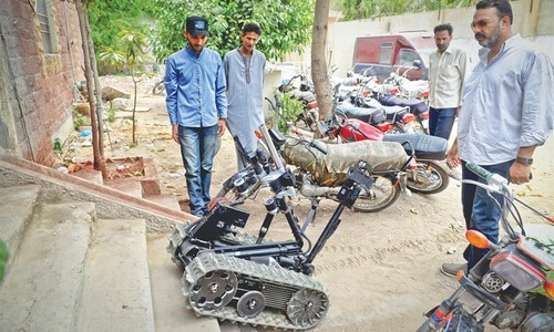 Footprints: Robocop on the streets