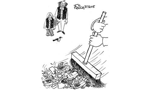 کارٹون: 31 جولائی 2015
