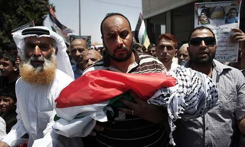 Palestinian toddler burned to death by Jewish settlers