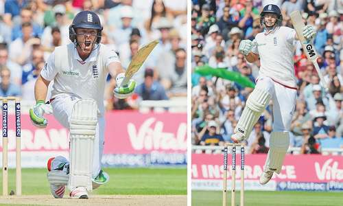 Bell steers England to Ashes series lead over Australia