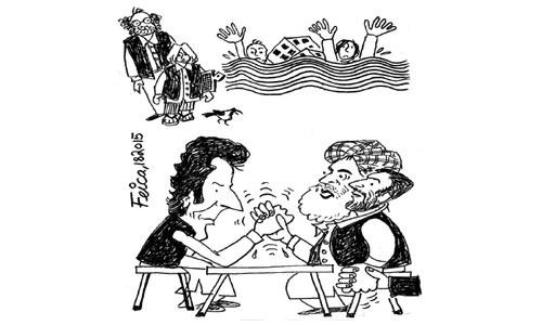 کارٹون: 1 اگست 2015