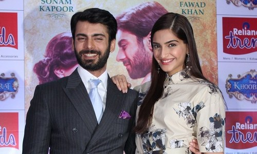 Shooting Khoobsurat with Fawad was one of Sonam's funniest experiences