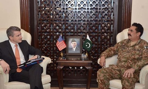 US special envoy lauds Gen Raheel for Afghan peace talks