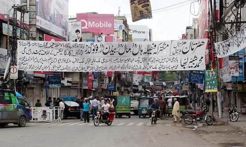 Traders observe strike against new tax