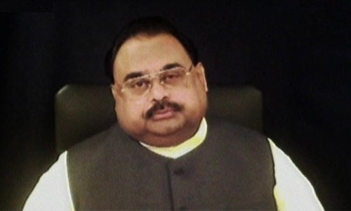 Resolutions submitted in Sindh, Punjab assemblies against Altaf's speech