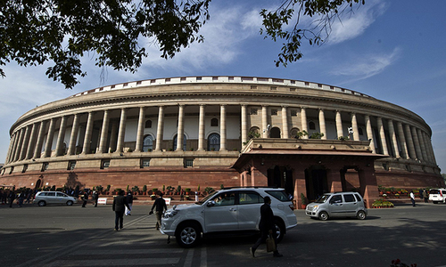 India's parliament suspends 25 opposition lawmakers in uproar