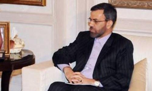 'Iran ready to meet Pakistan's energy needs'