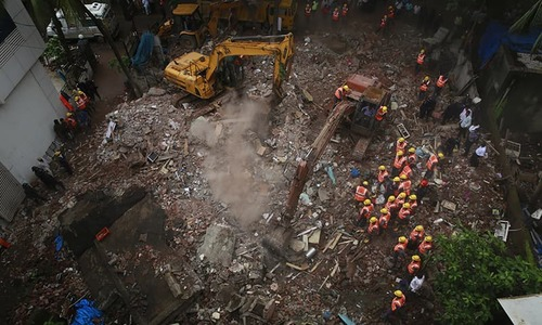 India building collapse kills 12 near Mumbai