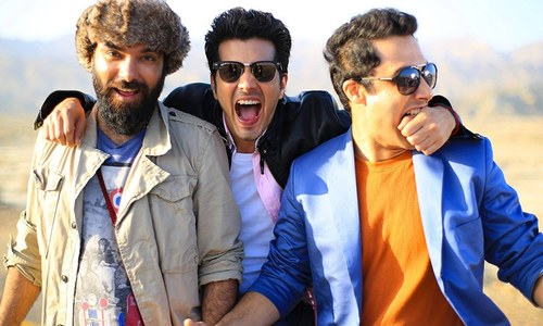 Karachi Se Lahore has a mostly male cast. But are the men filmi enough?